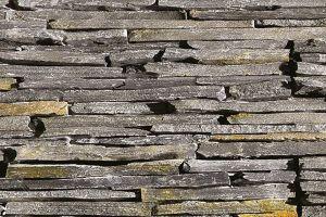 Black and Rusty Slate hrubý